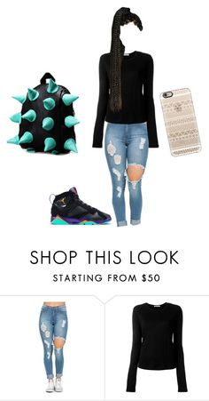"""might be a black bill gates in the makin"" by xoxolayyy ❤ liked on Polyvore featuring Retrò, T By Alexander Wang and Casetify"