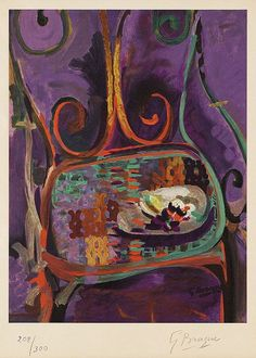 amare-habeo:  Georges Braque - The Chair (La chaise), 1962