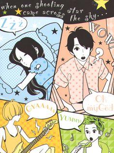 hirunaka no ryuusei.. waah! So cuute! Hirunaka no Ryuusei is my all time favorite Shoujo Manga!!
