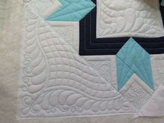 amys free motion quilting adventures-- ruler work on sewing machine plus fills Quilting Rulers, Longarm Quilting, Free Motion Quilting, Long Arm Quilting Machine, Machine Quilting Designs, Quilting Ideas, Quilt Corners, Quilt Stitching, Quilt Tutorials