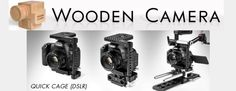 Wooden Camera - New Product Update - http://blog.planet5d.com/2013/06/wooden-camera-new-product-update/