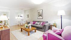Finský interiér: růžovou proti tmě... Home