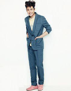 Lee Je Hoon @ Geek Tomorrow With You, Lee Je Hoon, Geek Magazine, Korean Actors, Suit Jacket, Cancer, Fashion, Moda, La Mode