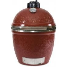 visually striking, from the eye catching logo on the top vent down to the stainless steel bottom vent. - Kamado Joe BigJoe Ceramic Grill With Stainless Bands Broil King Keg, Best Kamado Grill, Ceramic Grill, Best Charcoal Grill, Perfect Grill, Kamado Joe, Aluminum Cans, Cooking Temperatures, Ceramic Coating