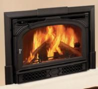 Vermont Castings Montpelier Wood Burning Insert available through Obadiah's. Wood Insert, Wood, Wood Stove, Hearth, Wood Burning Insert, Wood Architecture, Woodburning Stove Fireplace, Fireplace, Wood Burning Fireplace Inserts