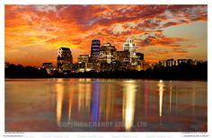 Beautiful Austin sunset :)