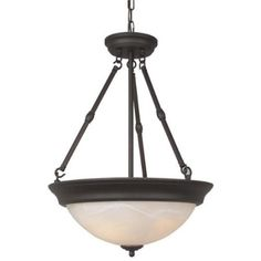Free Shipping. Buy Jeremiah Energy Star Step Pan Oiled Bronze Casual Indoor Lighting w/ 3 Light 13W at Walmart.com