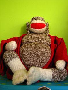 Buddha Sock Monkey