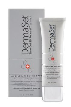 Dermaset 3d Renewal Treatment Stem Cell Anti Aging All in One Cream Botox Free Fast Shipping