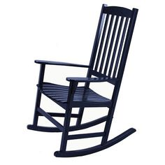 Willow Bay Patio Rocking Chair   Black : Target $99