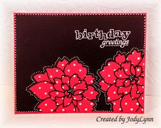LOVEFEST2014C TLC469 Happy Dotty Birthday by jodylb - Cards and Paper Crafts at Splitcoaststampers