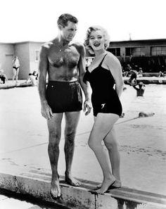 Marilyn Monroe & Cary Grant 1952
