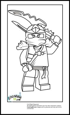 lego ninjago jay coloring pages - photo#3