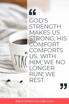 Bible verses for comforting, bible verses that comfort, bible verses for comfort and strength #inspirationalquote #motivationaquote #quoteoftheday #lifelessons #positivethinking #positivequotes #inspiremore #helpothers  #wordstoliveby #inspiringwords #empoweringwomen #howtobe #dailyreminder #bestquotes #bestinspirationalquotes #quotesoflove #lifelessons #sayings #women #wisewords #quotes Best Inspirational Quotes, Best Quotes, Love Quotes, Motivational Quotes, Christian Inspiration, Daily Inspiration, Gods Strength, Christian Encouragement, Daily Reminder