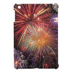 Fireworks Finale iPad Mini Cases