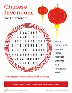 Ancient China-Chinese Inventions
