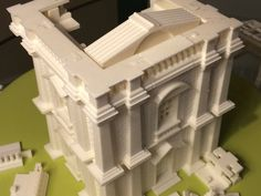 Construct & 3D Print Buildings of Any Size, Including Life-sized Models with These Free Kits - http://3dprint.com/41766/3d-printed-house-models/