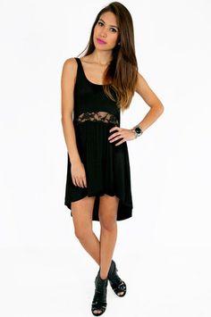 Middle Lace Dress $25 at www.tobi.com