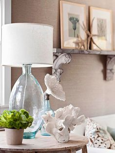 Make a Bedside Display, use an old mantle as a shelf