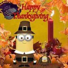 Hapy Thanksgiving Minion thanksgiving minions happy thanksgiving thanksgiving quotes thanksgiving comments thanksgiving quote
