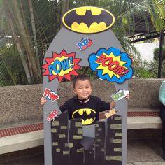PhotoBooth Batman, fotos, fiestas infantiles