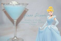 Disney Princess Cocktails