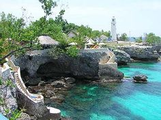 The Caves in Negril, Jamaica