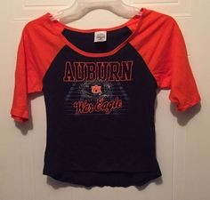 Auburn Tigers Girls Knit Top.  Size M 7/8.  NWOT #RivalryThreads #AuburnTigers