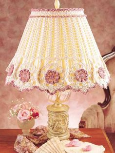 ~ Lamp Shade ~ Pretty, but a dust collector....