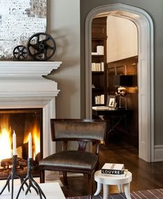 Don't care for the designs, but love the doorway frame :  Marcus Design: {designer profile: nam dang-mitchell}