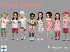 Persephaney — Fresh Melons - New toddler girl set <3 Set...