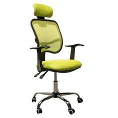 lime green office furniture. HomCom Adjustable Mesh High Back Computer Desk Office Task Chair W/ Headrest \u2013 Lime Green Furniture E