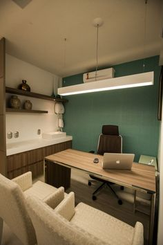 trendy home office design for men workspaces interiors Office Furniture Design, Office Interior Design, Office Interiors, Design Desk, Design Room, Small Office Design, Dental Office Design, Office Designs, Law Office Decor