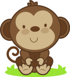 Daily Freebie Miss Kate Cuttables--Baby Monkey SVG cutting file monkey svg cut file free svgs free svg cuts Jungle Party, Safari Party, Safari Theme, Jungle Theme, Cute Images, Cute Pictures, Diy Cadeau Maitresse, 2 Baby, Cute Clipart