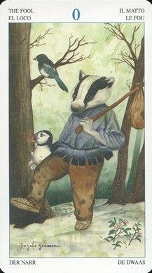 Animal Lords Tarot - The Fool (0)