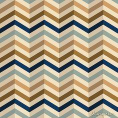 zigzag pattern in retro colors by Slanapotam, via Flickr