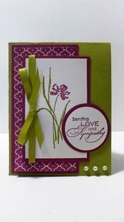 Stampin' Up Love & Sympathy Card