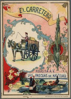 [Felicitaciones de Navidad de oficios.. Grabado — 1900-1960