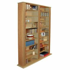 Buy Techstyle Multimedia CD / DVD Storage Shelves   Oak From Our CD U0026 DVD  Shelves Range At Tesco Direct. We Stock A Great Range Of Products At  Everyday ...