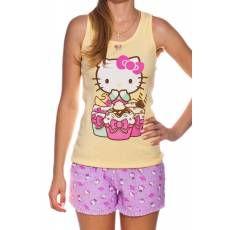 Pijama Regata Adulto Hello Kitty