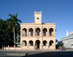 Mackay Town Hall - riginally built in 1912 the Mackay Town Hall is a beautiful historic building in the centre of the city which has been transformed into a welcome centre assisting new residents in the Mackay region. Located at 63 Sydney Street, Mackay, Queensland 4740