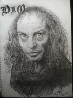 r.i.p ronnie james dio....a tribute sketch by me...