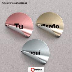 En http://copiplan.com.uy/ hacemos #StickersPersonalizados, el diseño que vos quieras para lo que necesites
