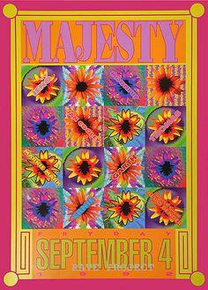 A great San Francisco Bay Area flyer - 1992 by Paul Rivas ( one of LA's best flyer designers