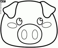 Colorear Máscara de un cerdito Pig Crafts, Sewing Crafts, Sewing Projects, Animal Masks For Kids, Mask For Kids, Coloring Books, Coloring Pages, Carnival Crafts, Patchwork Heart