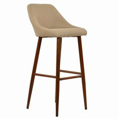 The Cologne Fixed Height Bar Stool Charcoal Grey Fabric available at Lakeland Furniture! of bar stool styles to choose from.