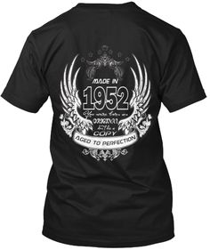 madein1952agedtoperfection | Teespring