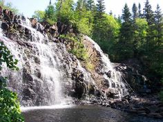 Marathon, Ontario - Mink Creek Falls, Imace courtesy of Ontario Trails