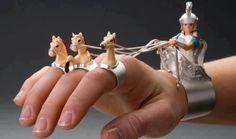 grappige ringen + armbang.  I want it