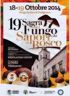 FOGLIE: Sagra del fungo 2014 a Putignano